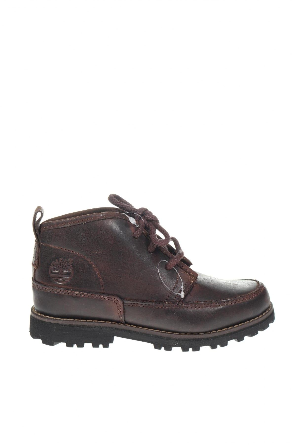 Παιδικά παπούτσια Timberland, Μέγεθος 30, Χρώμα Καφέ, Γνήσιο δέρμα, Τιμή 63,93€