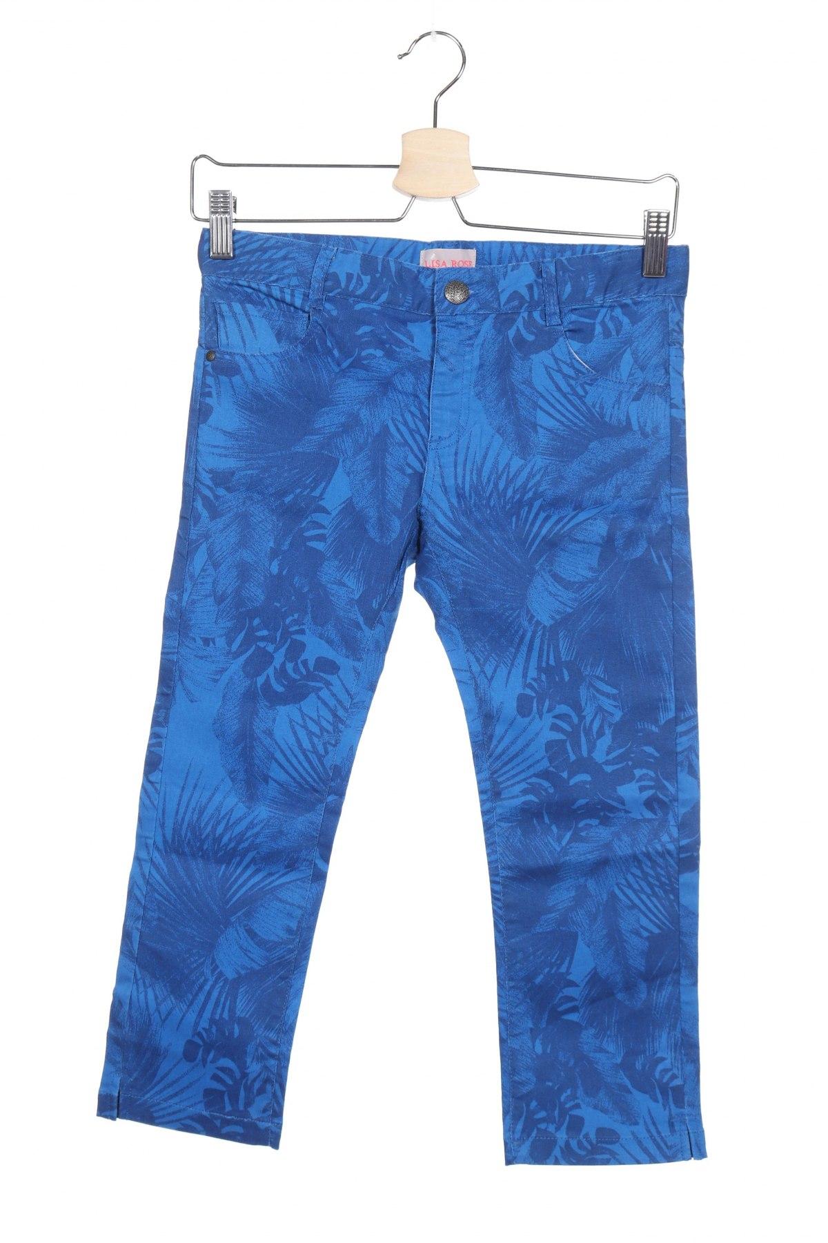 Παιδικό παντελόνι Lila Rose, Μέγεθος 12-13y/ 158-164 εκ., Χρώμα Μπλέ, 59% βαμβάκι, 38% πολυεστέρας, 3% ελαστάνη, Τιμή 5,34€