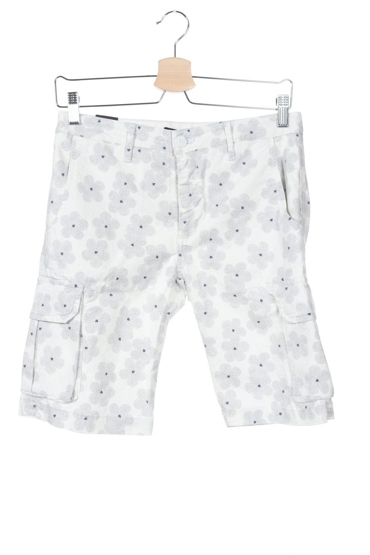 Мъжки къс панталон Liu Jo, Размер S, Цвят Бял, 98% памук, 2% еластан, Цена 74,25лв.