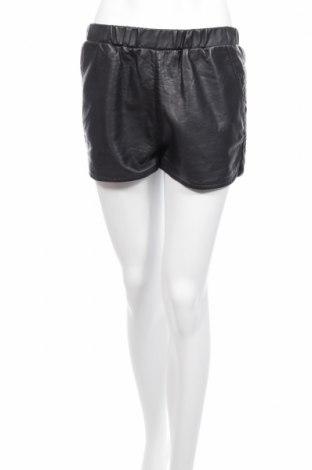 Γυναικείο κοντό δερμάτινο παντελόνι Bik Bok
