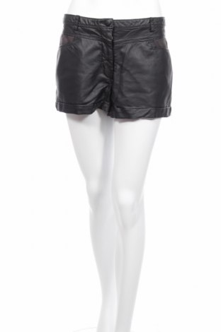 Γυναικείο κοντό δερμάτινο παντελόνι H&M