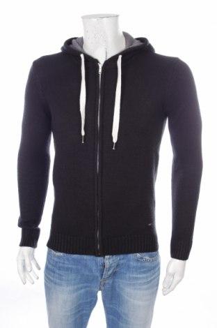 Jachetă tricotată de bărbați Solid