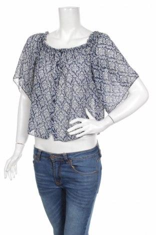 Дамска риза, Размер M, Цвят Син, Полиестер, Цена 4,25лв.