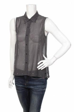 Дамска риза No Name, Размер XS, Цвят Сив, Цена 4,50лв.