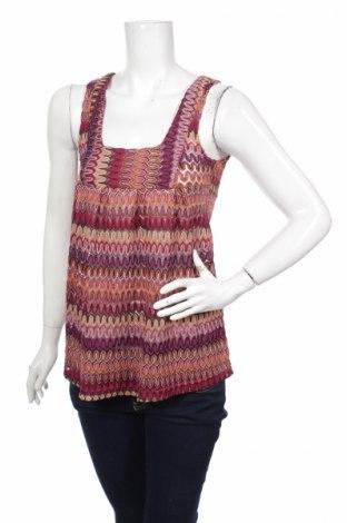 Tricou de damă H&M, Mărime XS, Culoare Multicolor, 95% poliester, fire din metal, Preț 9,40 Lei