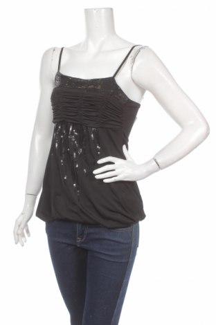 Дамски потник Maner, Размер S, Цвят Черен, 65% полиестер, 35% памук, Цена 4,64лв.