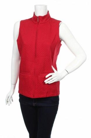 Дамски елек Malva, Размер S, Цвят Червен, 50% полиестер, 50% памук, Цена 19,55лв.