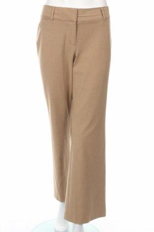 Дамски панталон Loft By Ann Taylor, Размер L, Цвят Кафяв, 48% полиестер, 48% вискоза, 4% еластан, Цена 15,00лв.