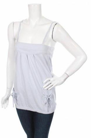 Γυναικείο αμάνικο μπλουζάκι Time Out, Μέγεθος S, Χρώμα Μπλέ, 100% βαμβάκι, Τιμή 11,06€