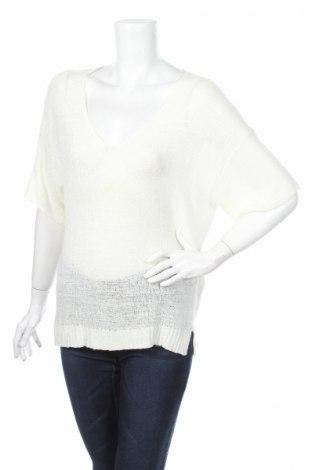 Дамски пуловер Piazza Italia, Размер M, Цвят Бял, 55% акрил, 45% полиамид, Цена 10,15лв.