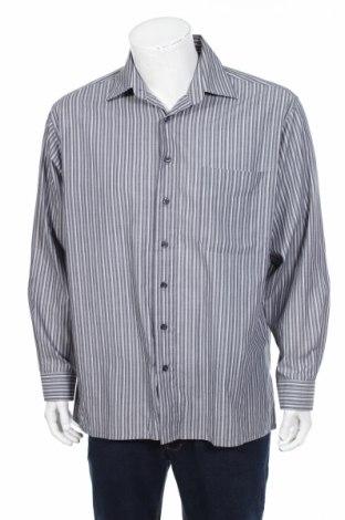 Мъжка риза Duke Of Dunkan, Размер L, Цвят Сив, 65% полиестер, 35% памук, Цена 22,10лв.