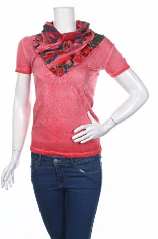 Női blúz Desigual, Méret XS, Szín Rózsaszín, 53% viszkóz, 47% pamut, Ár 7649 Ft