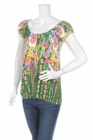 Дамска блуза Robin, Размер M, Цвят Многоцветен, 95% вискоза, 5% еластан, Цена 5,72лв.