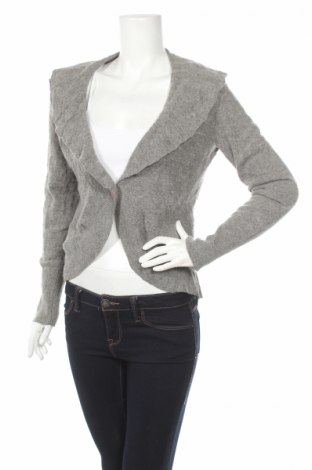 Дамска жилетка Another Woman, Размер L, Цвят Сив, 80% вълна, 20% полиамид, Цена 10,50лв.