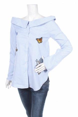 Dámská košile  Romeo Pour Juliette, Rozměr M, Barva Modrá, Bavlna, Cena  909,00Kč