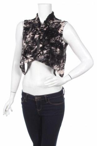 Дамски елек La Mode Est A Vous, Размер XS, Цвят Черен, Полиестер, Цена 10,58лв.