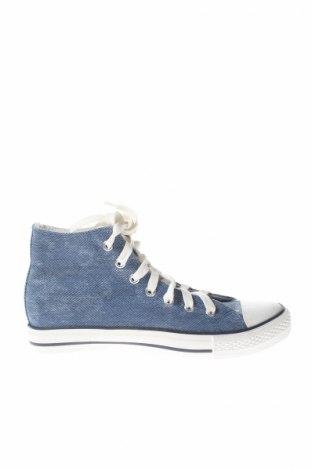 Дамски обувки, Размер 37, Цвят Син, Текстил, Цена 9,00лв.