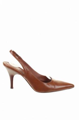 Γυναικεία παπούτσια Boss, Μέγεθος 37, Χρώμα Καφέ, Γνήσιο δέρμα, Τιμή 44,54€