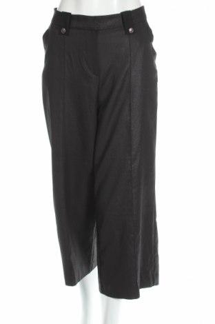 Дамски панталон La Mode Est A Vous, Размер M, Цвят Черен, 95% полиестер, 5% еластан, Цена 51,00лв.