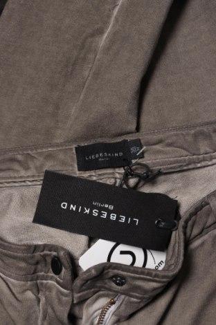 Дамски панталон Liebeskind, Размер M, Цвят Бежов, 97% памук, 3% еластан, Цена 45,55лв.