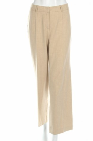 Дамски панталон Madeleine, Размер L, Цвят Бежов, 67% полиестер, 29% вискоза, 4% еластан, Цена 9,75лв.