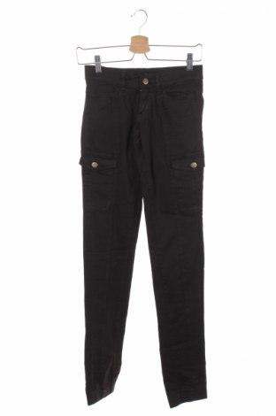 Дамски панталон Miss Sixty, Размер XS, Цвят Кафяв, 98% памук, 2% еластан, Цена 21,55лв.