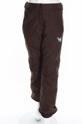 Дамски панталон за зимни спортове Rodeo, Размер S, Цвят Кафяв, Полиамид, Цена 14,75лв.
