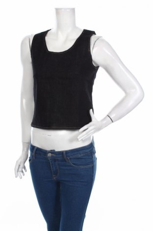 Γυναικείο αμάνικο μπλουζάκι Only Jeans, Μέγεθος S, Χρώμα Μπλέ, 92% βαμβάκι, 7% πολυεστέρας, 1% ελαστάνη, Τιμή 3,34€