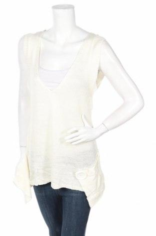 Дамски пуловер Bamboo, Размер S, Цвят Екрю, Полиестер, Цена 3,96лв.