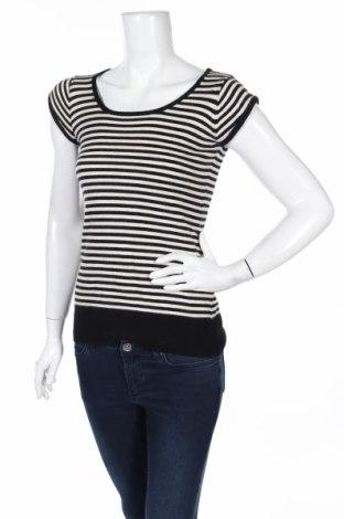 Дамски пуловер Caramelo, Размер XS, Цвят Бял, 40% памук, 30% вискоза, 20% полиамид, 10% ангора, Цена 20,47лв.