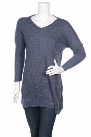 Dámský svetr Pretty Winter, Rozměr S, Barva Modrá, 65% polyester, 35% bavlna, Cena  176,00Kč