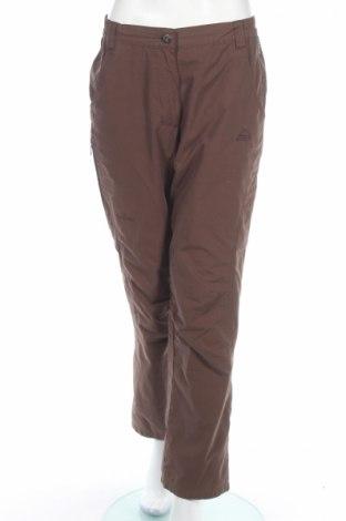 Дамски спортен панталон Mc Kinley, Размер M, Цвят Кафяв, 65% полиестер, 35% памук, Цена 6,40лв.