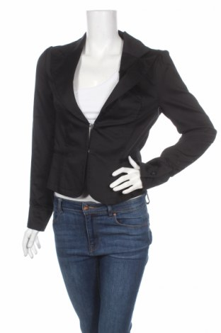 Дамско сако Cubus, Размер M, Цвят Черен, 97% памук, 3% еластан, Цена 36,40лв.