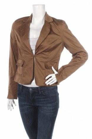 Дамско сако Laura Scott, Размер S, Цвят Кафяв, 97% памук, 3% еластан, Цена 9,27лв.