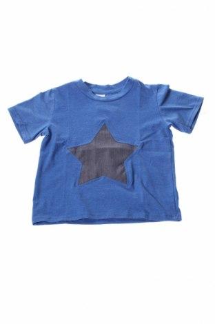 Детска блуза Dodo, Размер 4-5y/ 110-116 см, Цвят Син, 95% памук, 5% полиестер, Цена 9,60лв.