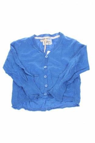Gyerek kardigán Pepe Jeans, Méret 3-4y / 104-110 cm, Szín Kék, 64% pamut, 36% viszkóz, Ár 4175 Ft