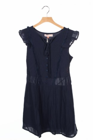 Rochie de copii LuluCastagnette for Cache Cache, Mărime 12-13y/ 158-164 cm, Culoare Albastru, 50% bumbac, 50% viscoză, Preț 36,32 Lei