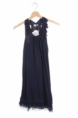 Rochie de copii Mini Molly, Mărime 13-14y/ 164-168 cm, Culoare Albastru, 62% viscoză, 38% poliester, Preț 63,16 Lei