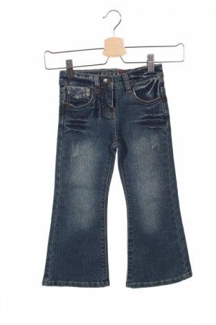 Детски дънки Emonite, Размер 3-4y/ 104-110 см, Цвят Син, 55% памук, 43% полиестер, 2% еластан, Цена 5,25лв.