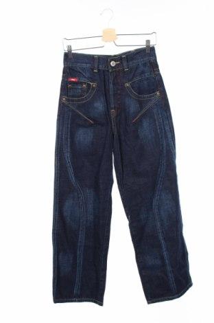 Детски дънки Vingino, Размер 13-14y/ 164-168 см, Цвят Син, Памук, Цена 5,55лв.