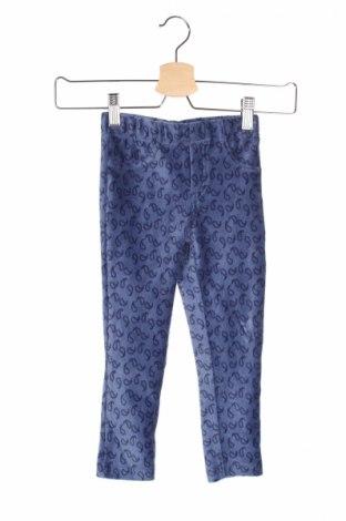 Pantaloni raiați de copii Lisa Rose, Mărime 2-3y/ 98-104 cm, Culoare Albastru, 59% bumbac, 38% poliester, 3% elastan, Preț 20,58 Lei