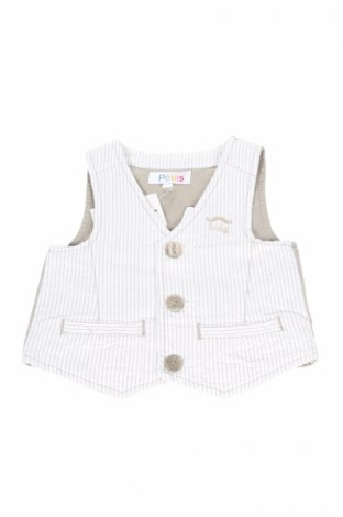 Детски елек La Compagnie des Petits, Размер 18-24m/ 86-98 см, Цвят Бял, 100% памук, Цена 9,66лв.