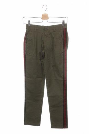 Детски панталон Jack & Jones, Размер 10-11y/ 146-152 см, Цвят Зелен, 98% памук, 2% еластан, Цена 13,57лв.
