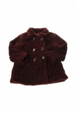 Детско палто Gocco, Размер 12-18m/ 80-86 см, Цвят Кафяв, Полиестер, Цена 19,60лв.