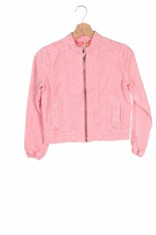Детско яке Pepe Jeans, Размер 11-12y/ 152-158 см, Цвят Розов, 100% памук, Цена 22,35лв.