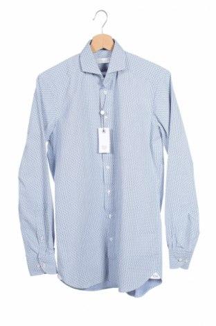 Мъжка риза Guido Maria Kretschmer, Размер XS, Цвят Син, Памук, Цена 15,30лв.