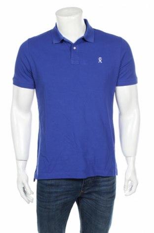 Мъжка тениска Vicomte A., Размер L, Цвят Син, Памук, Цена 34,50лв.