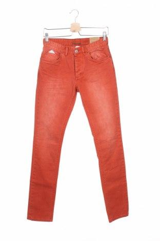 Blugi de bărbați Devred 1902, Mărime XS, Culoare Oranj, 98% bumbac, 2% elastan, Preț 47,81 Lei
