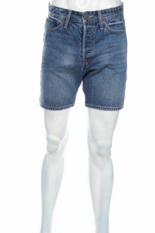 Pánske kraťasy  Jack & Jones, Veľkosť S, Farba Modrá, Bavlna, Cena  12,45€