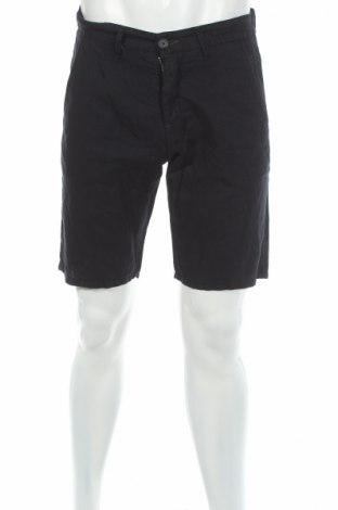 Pantaloni scurți de bărbați Liu Jo, Mărime M, Culoare Albastru, 55% in, 45% bumbac, Preț 70,26 Lei